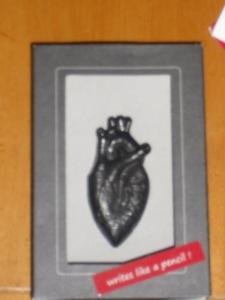 graphite heart