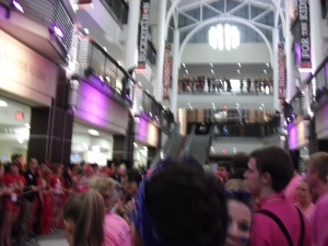 This photo is actually from the start of Buckeyethon, but whatever. You get the point.
