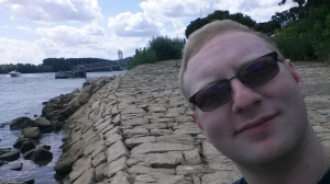 The Rhine River and me.