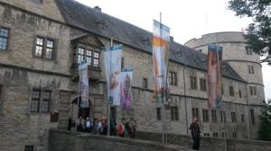 Entrance into the castle proper.