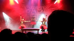 BABYMETAL rocking it out in Frankfurt.
