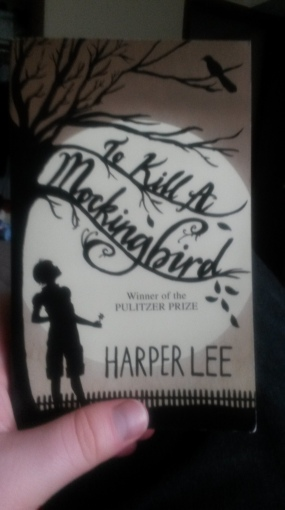 My copy of To Kill a Mockingbird by Harper Lee.