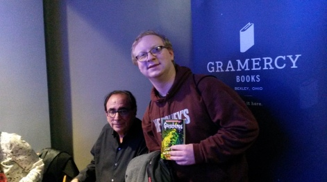 Me with RL Stine himself.